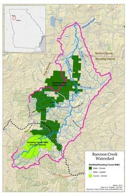 GIS Map of Raccoon Creek Watershed